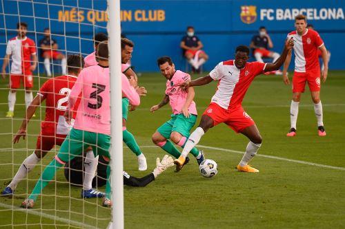 Barcelona venció 3 a 1 a Girona en partido amistoso