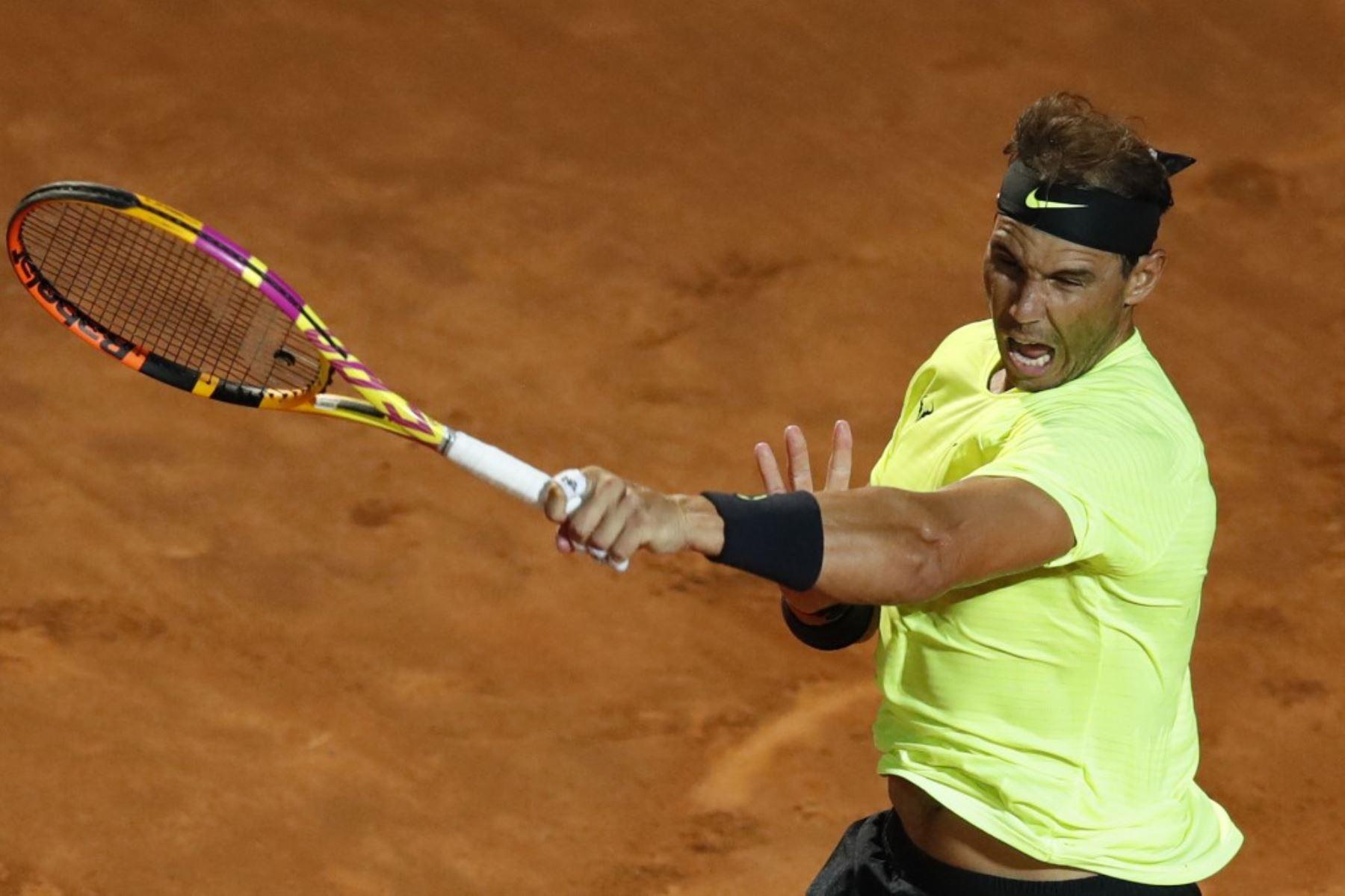 Rafael Nadal regresa con un triunfo cómodo ante Carreño en Roma