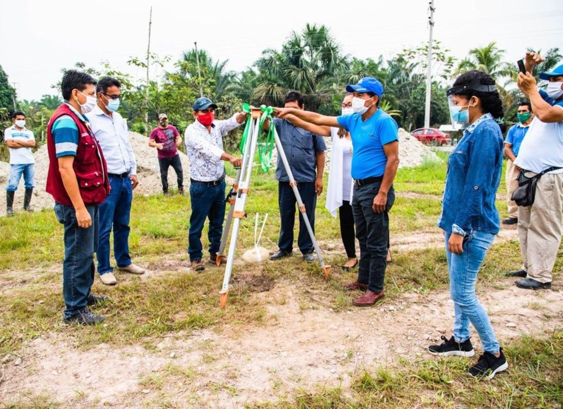 El Ministerio de Justicia y la Municipalidad de Tocache invertirán más de S/ 5 millones en obras de reparación colectiva en dicha provincia de la región San Martín. ANDINA/Difusión