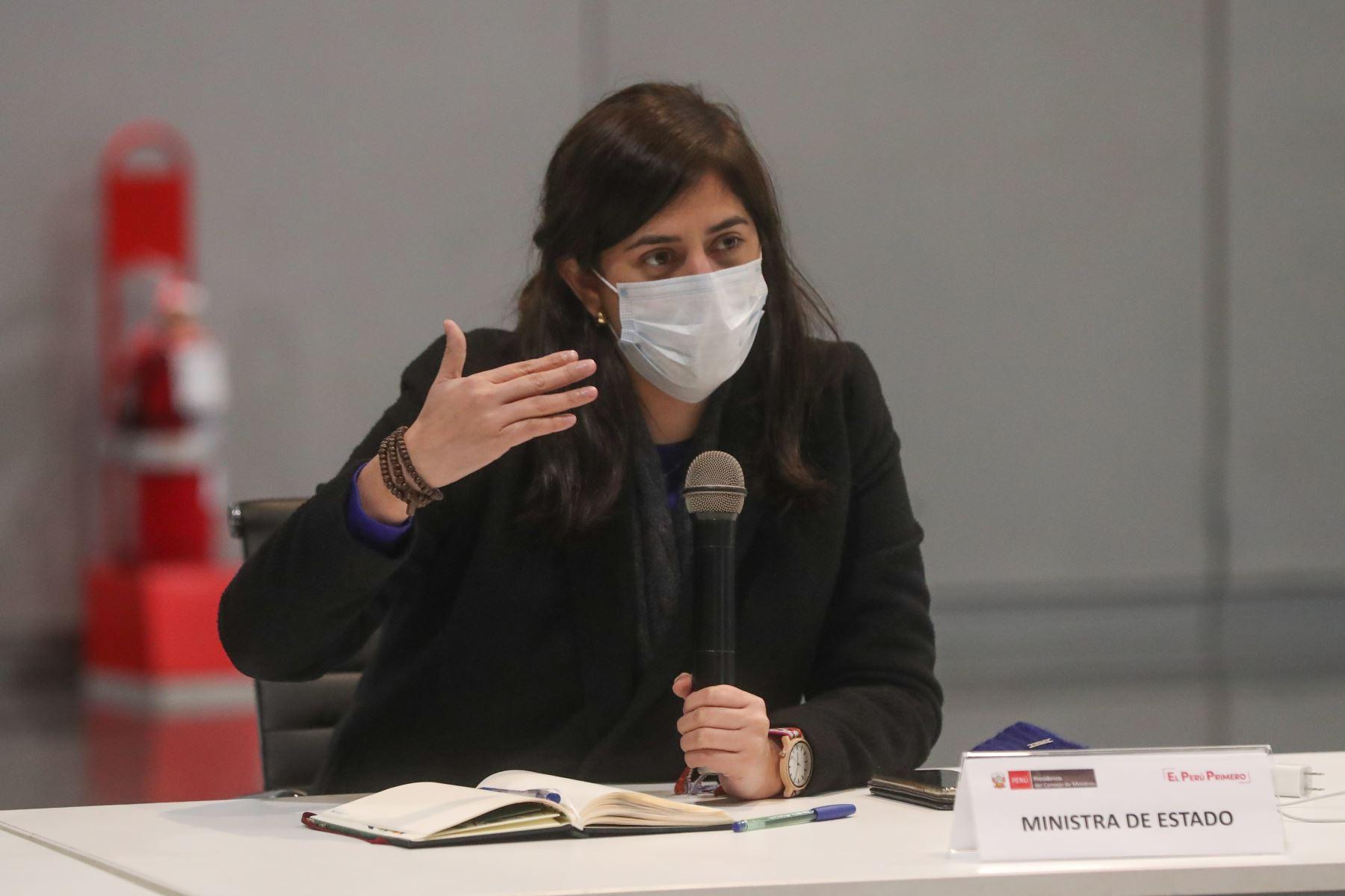 Ministra de Economía y Finanzas, María Antonieta Alva. ANDINA/Difusión