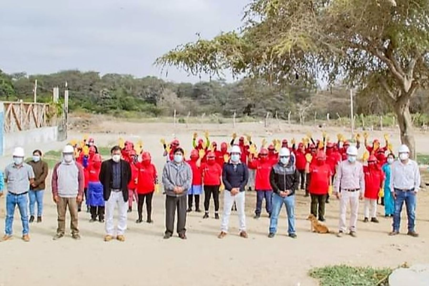 Trabaja Perú promueve el empleo temporal en la región Lambayeque. ANDINA/Difusión