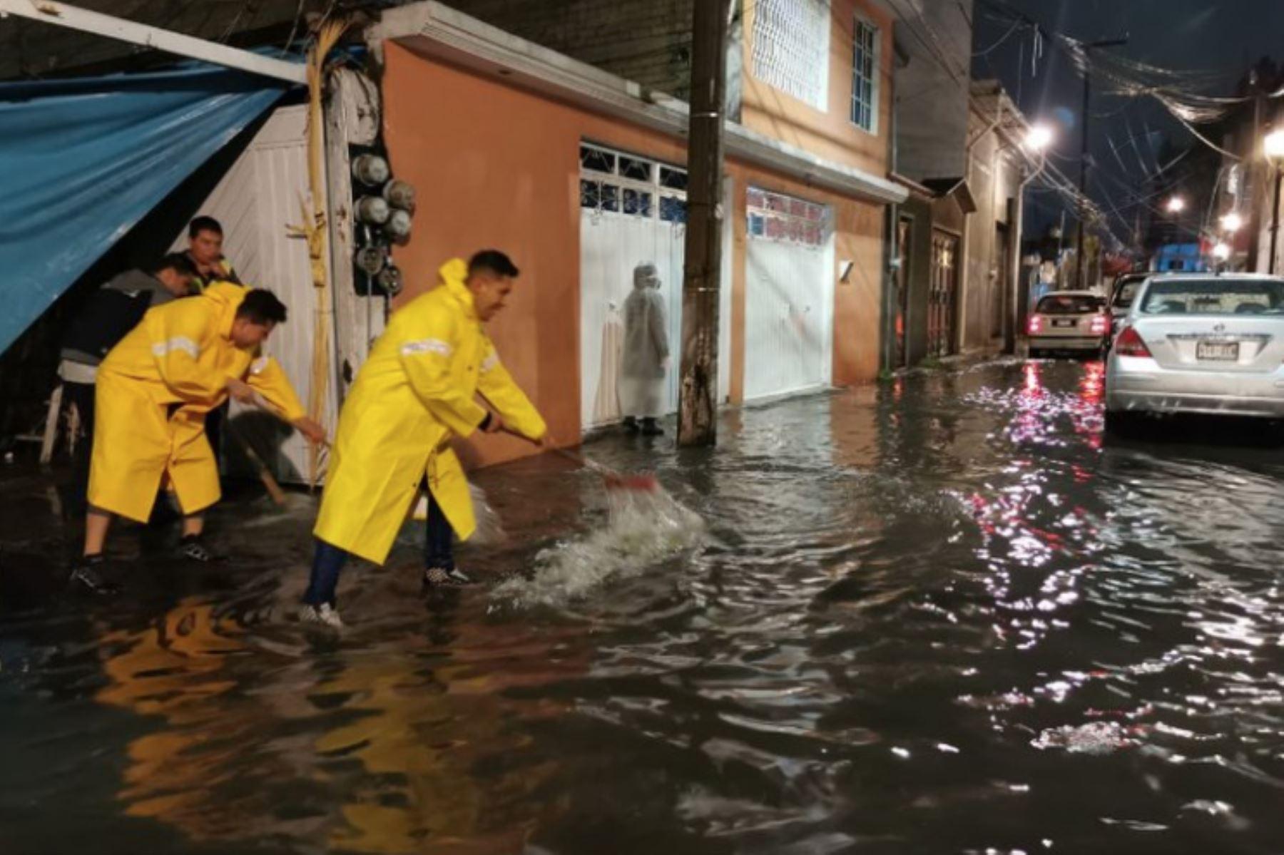 La Ciudad de México registra inundaciones tras atípicas lluvias   Noticias