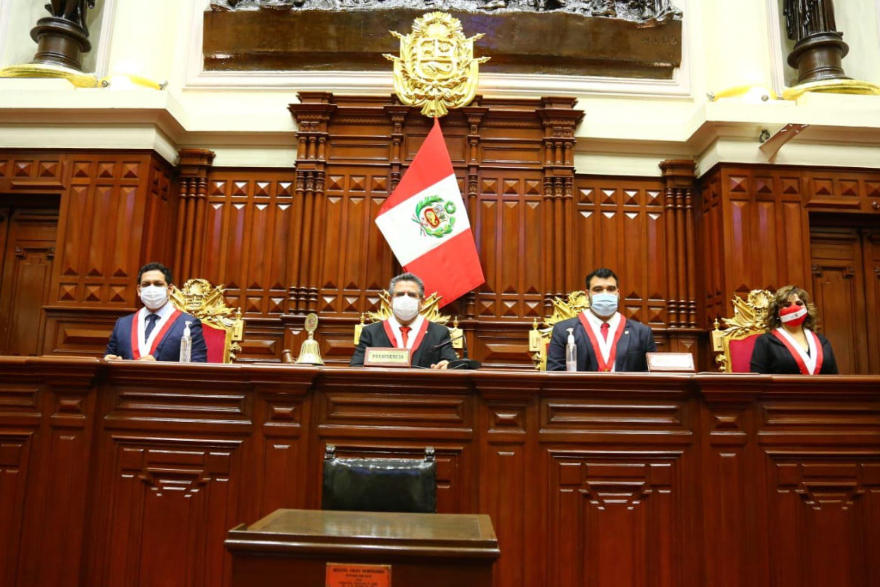 Congreso: Pleno conmemora 198 aniversario de creación del Parlamento Nacional   Noticias