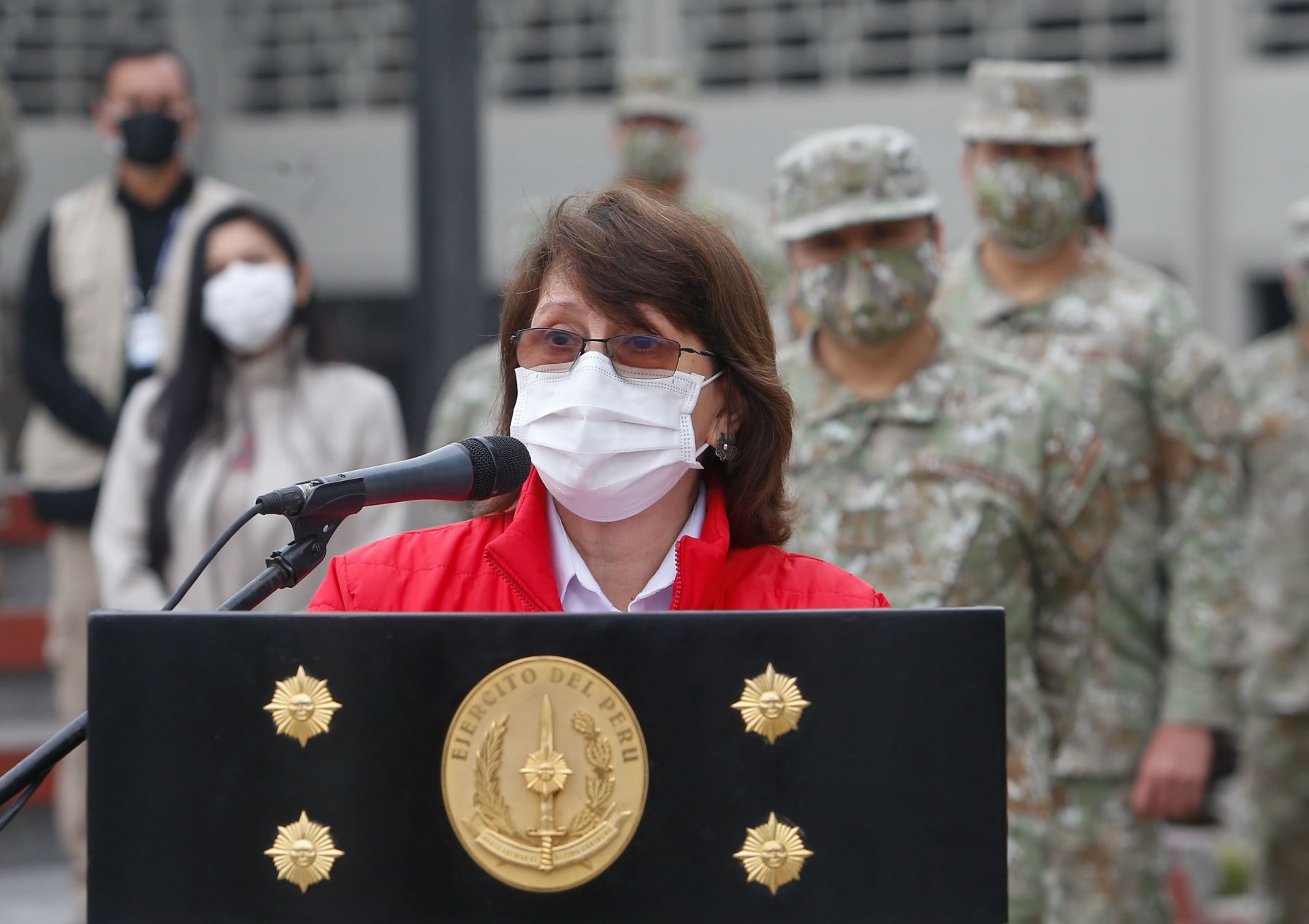 Health Minister Pilar Mazzetti. Photo: ANDINA/MINSA