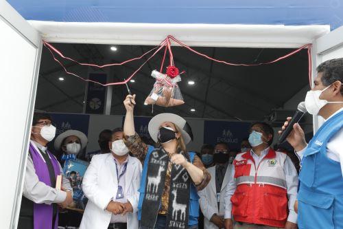 Coronavirus: Essalud inauguró nuevo centro de atención Villa Essalud en Apurímac