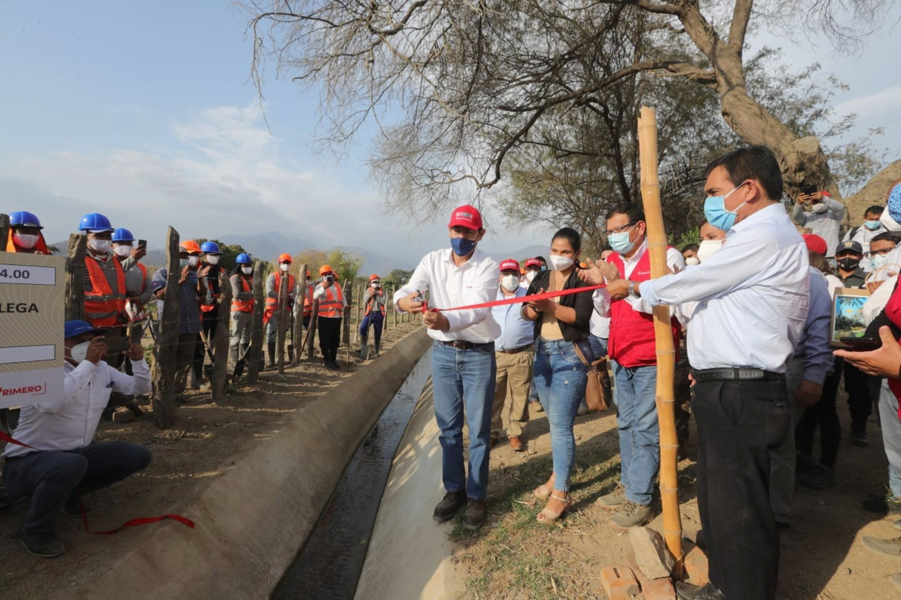 Peruvian President Martin Vizcarra visits Morropon in Piura region. Photo: ANDINA/Presidency of the Republic