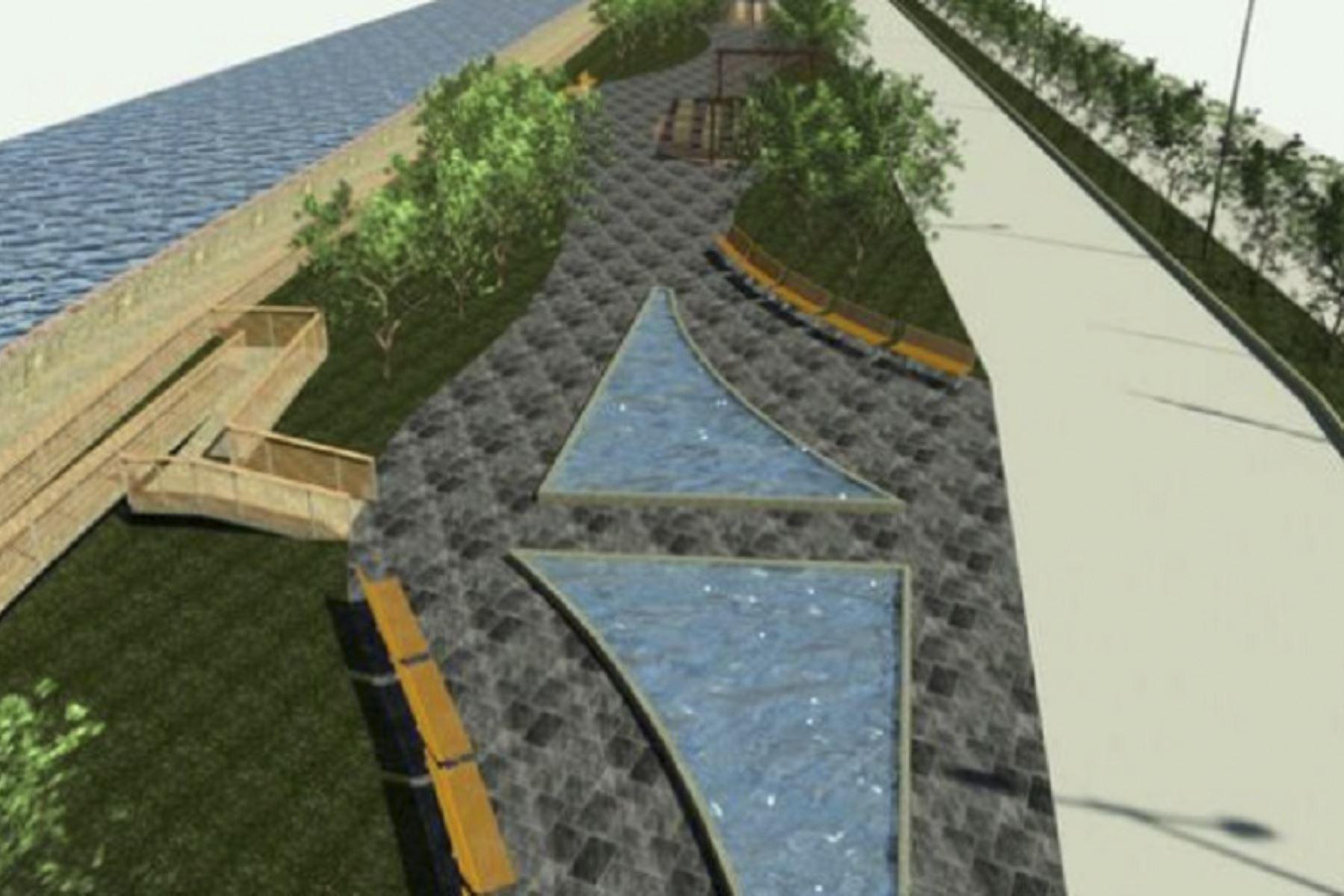 Recuperación y mejora del malecón ribereño de Moquegua avanza a paso firme | Noticias