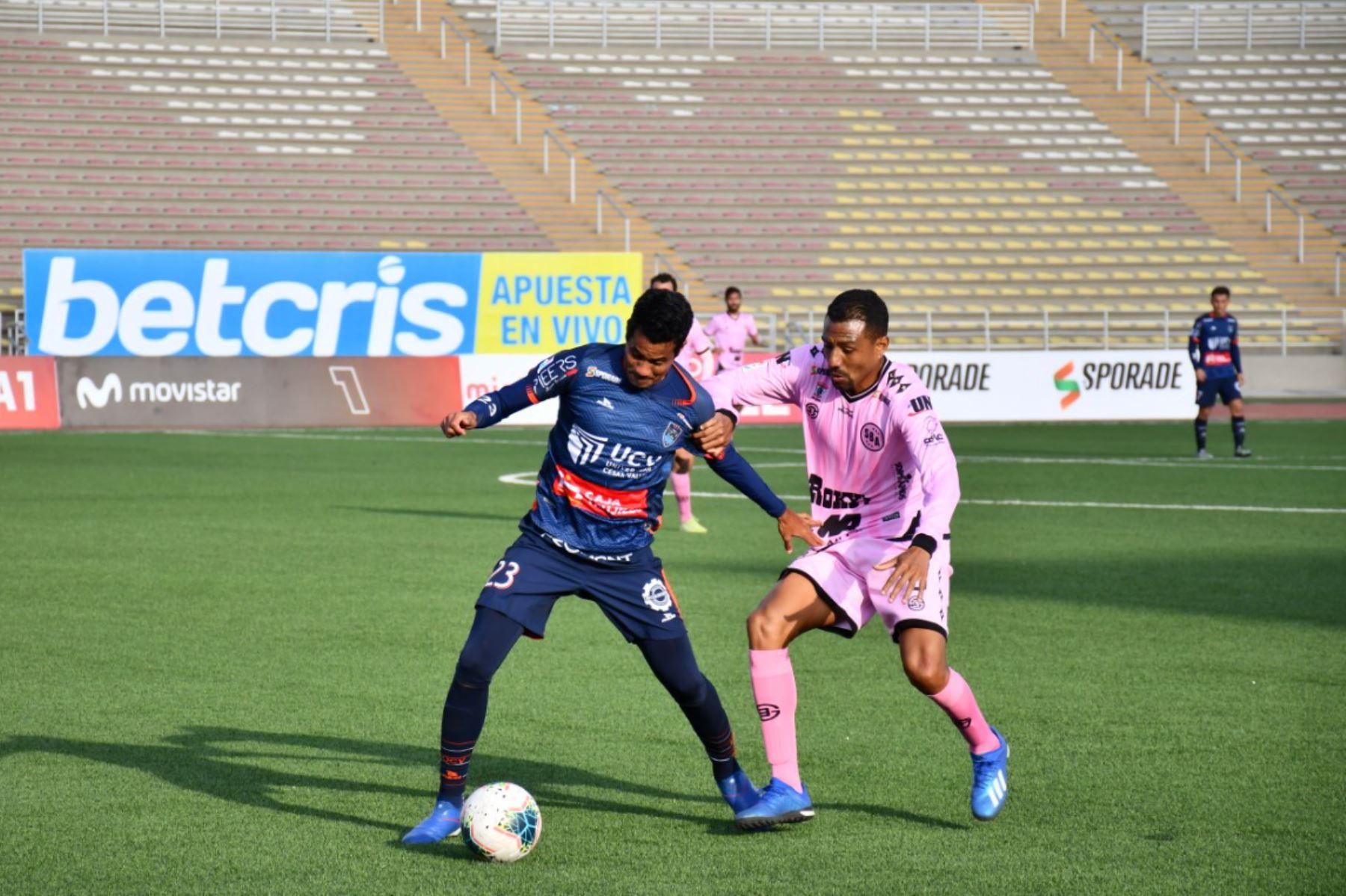 Club UCV se enfrenta al Sport Boys por la jornada 12 de la Liga 1 que se disputa en el estadio San Marcos.  Foto: @LigaFutProf