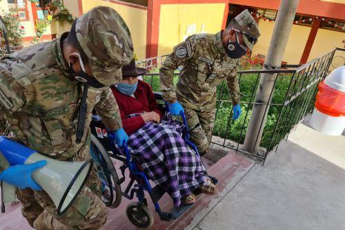 Comando Conjunto de las FF.AA brindarán apoyo en salud a más de 12 mil personas en  Ayacucho