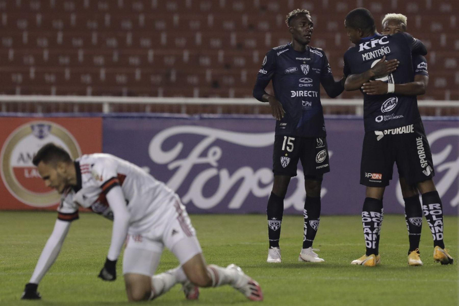 FOTO) Reacción de medios brasileños ante goleada de IDV a Flamengo | ECUAGOL