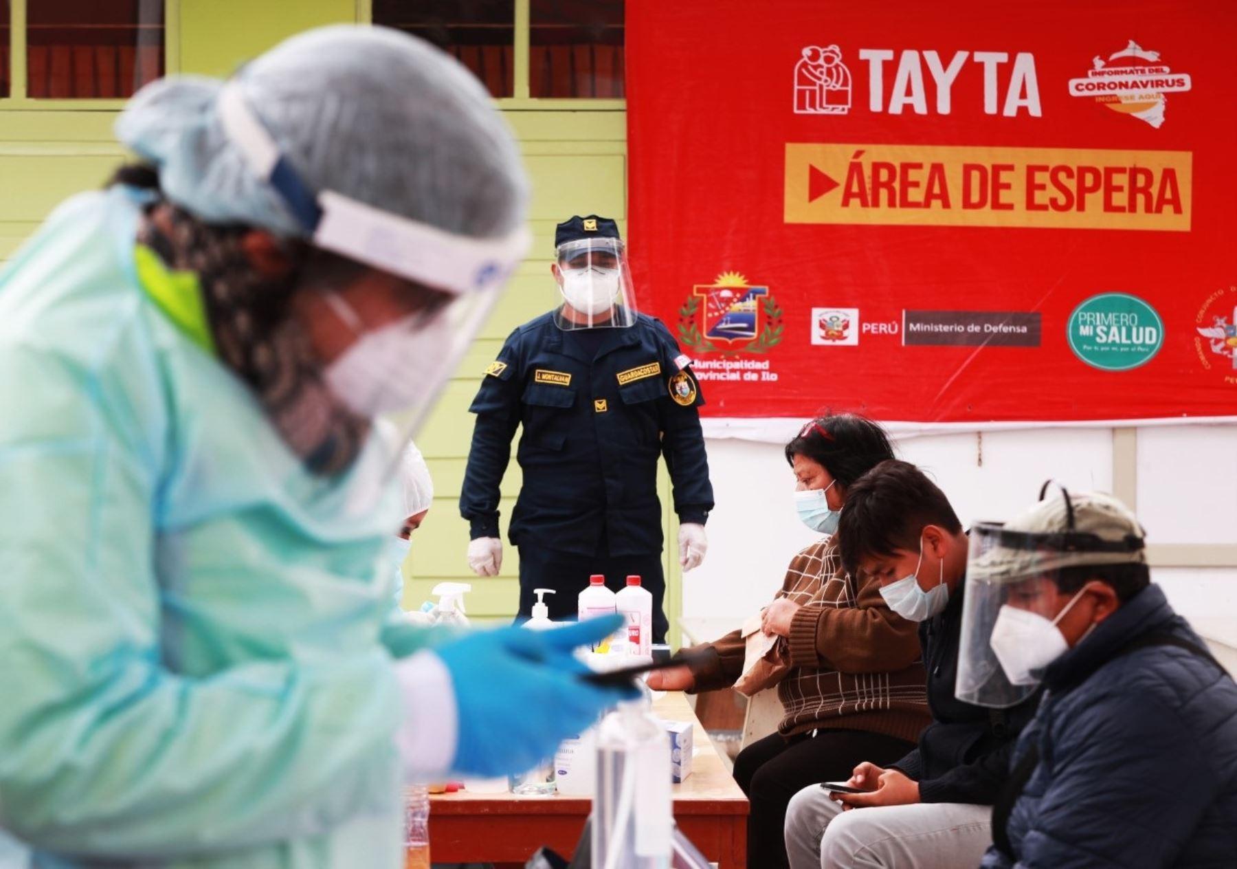Operación Tayta intensifica su intervención en Moquegua para prevenir más contagios y reducir la propagación del coronavirus (covid-19). ANDINA/Difusión