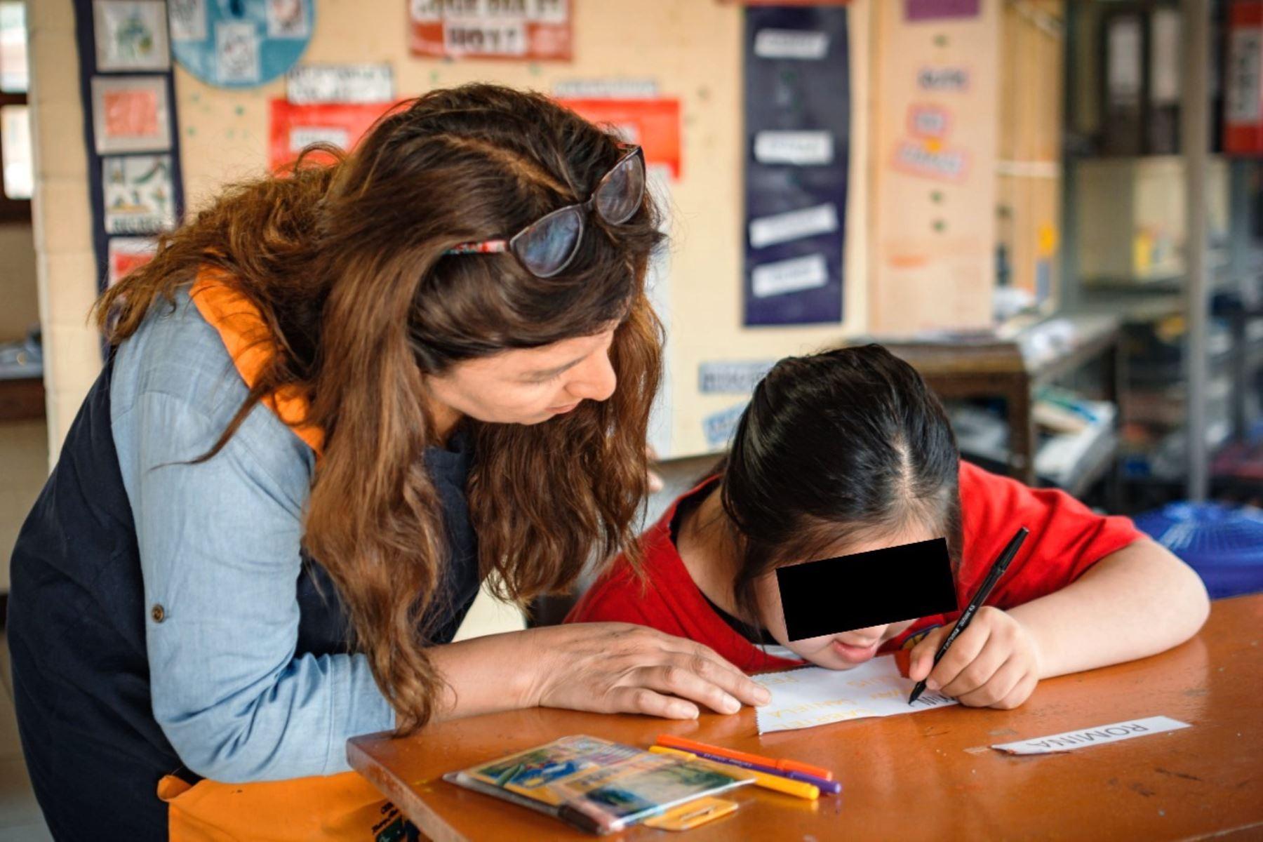 Concurso Buenas Prácticas Docentes incorpora por primera vez la Educación Básica Especial. Foto: ANDINA/Difusión.