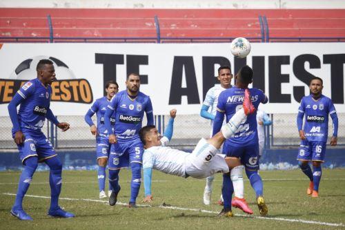 Deportivo Binacional gana  2 a 1 al Llacuabamba en la jornada 12 de la Liga 1