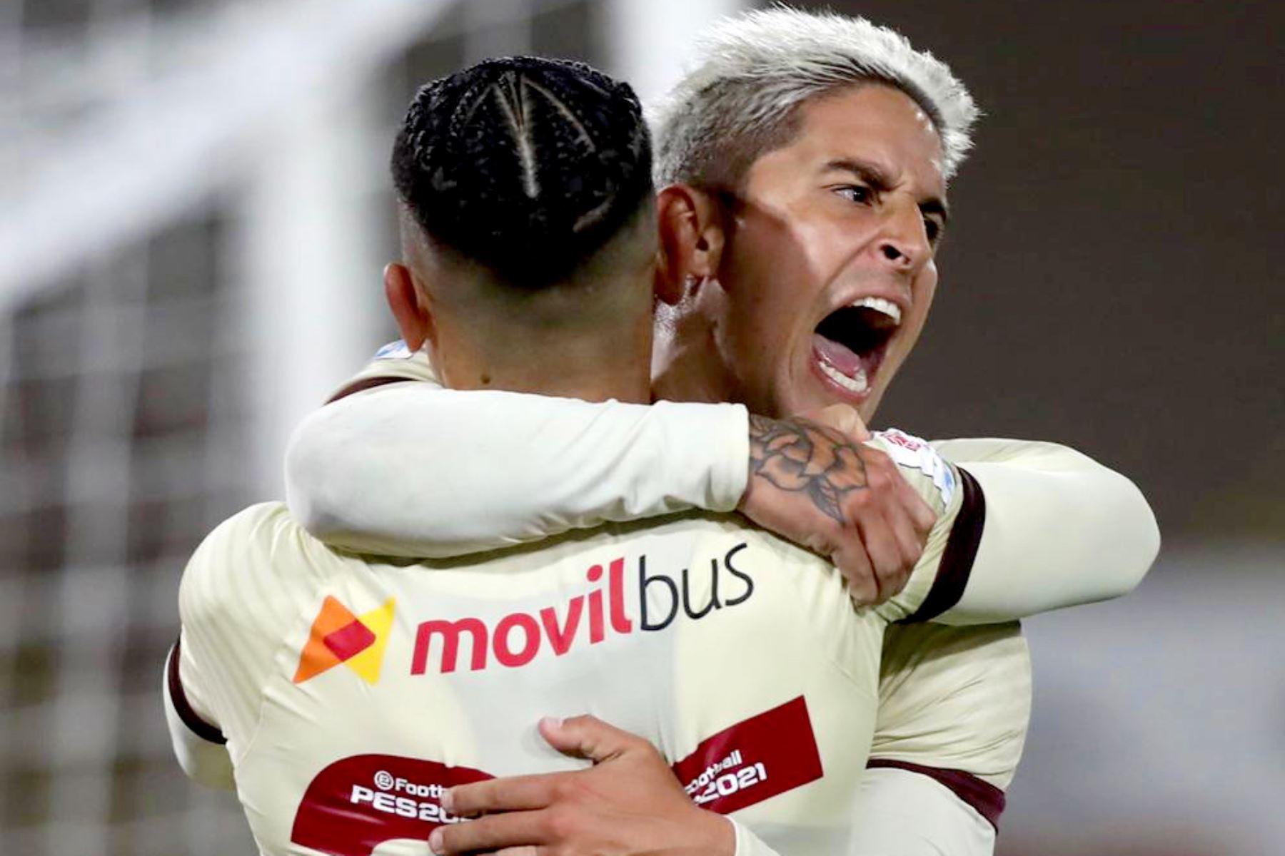 ¡A paso de campeón! Universitario vence a Ayacucho y le saca siete puntos al segundo lugar | Noticias