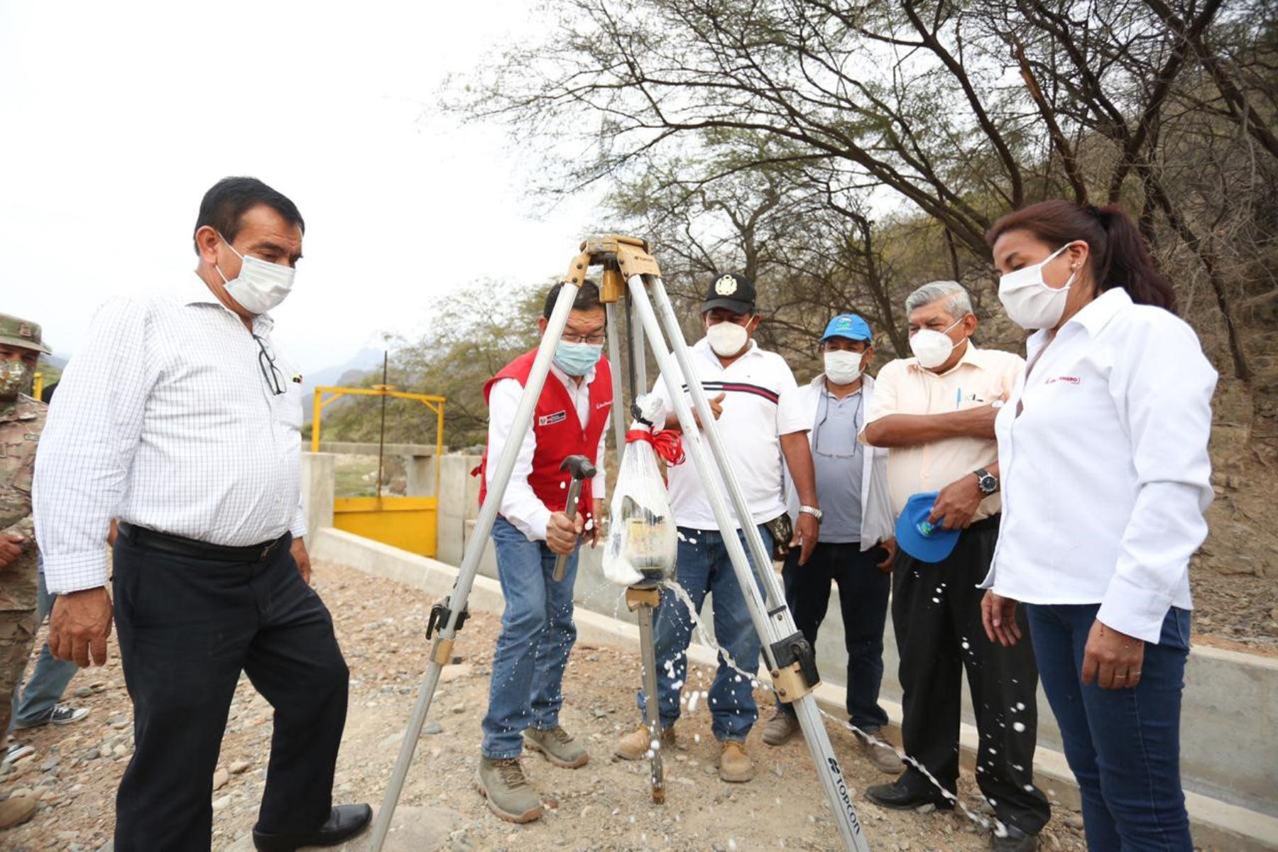 Piura: Minagri asegura riego de 674 hectáreas de cultivo en Chulucanas | Noticias