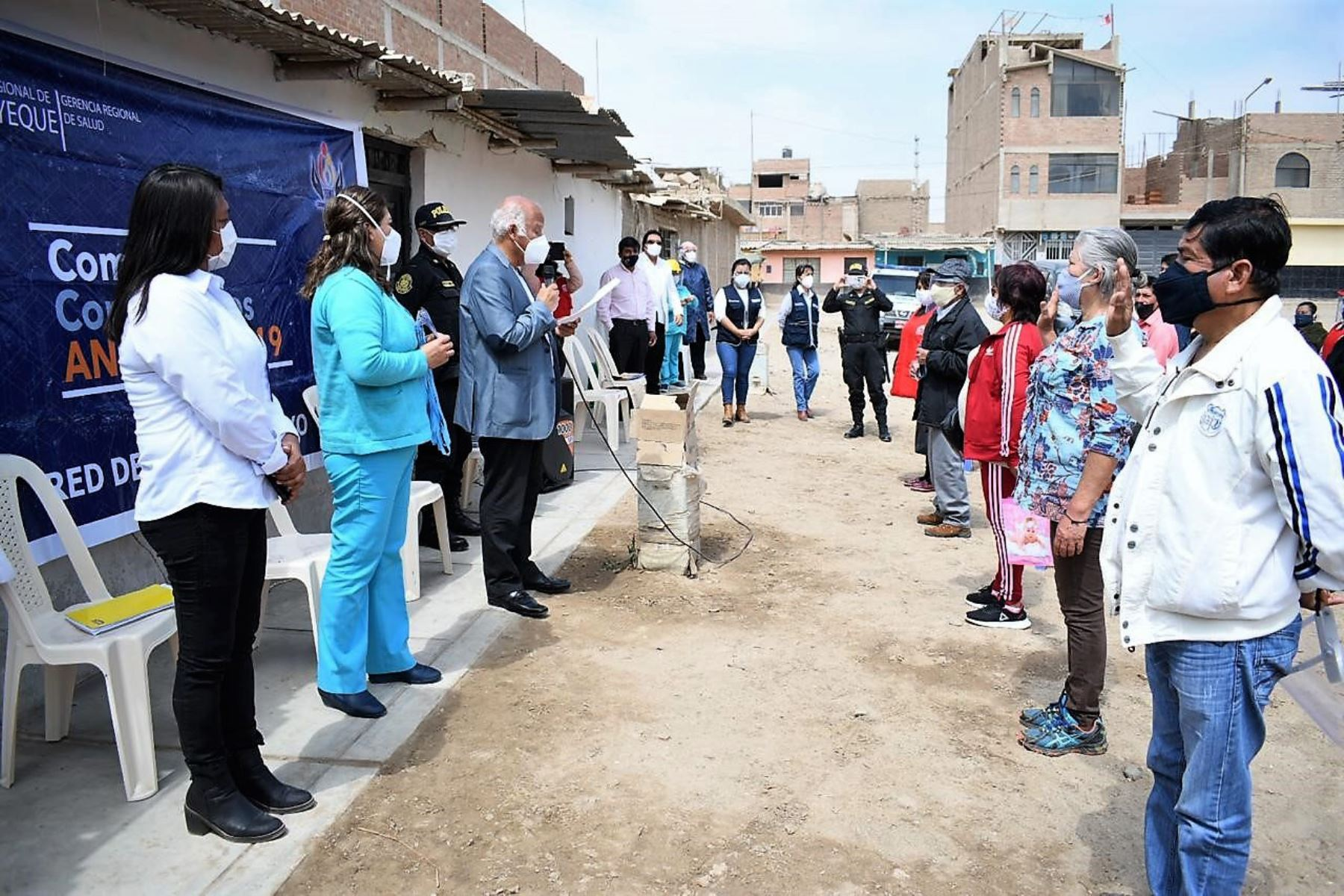 Lambayeque: 52 comités anticovid participan en detección oportuna de contagios   Noticias