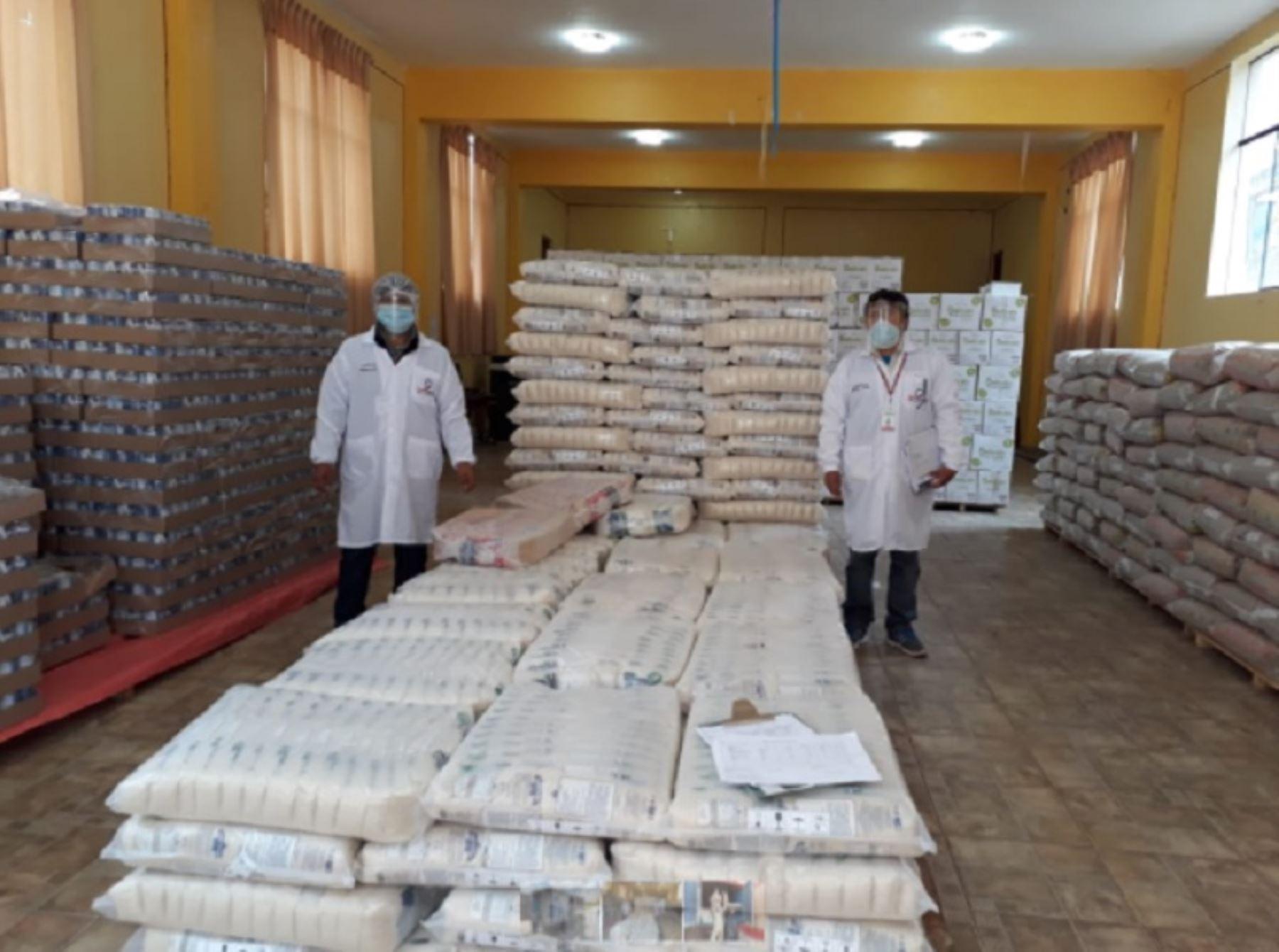 Puno: Qali Warma entrega más de 75 toneladas de alimentos en Pucará, Corani y Kelluyo | Noticias