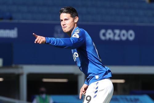 Everton venció 5 a 2 de Albion por la Premier League