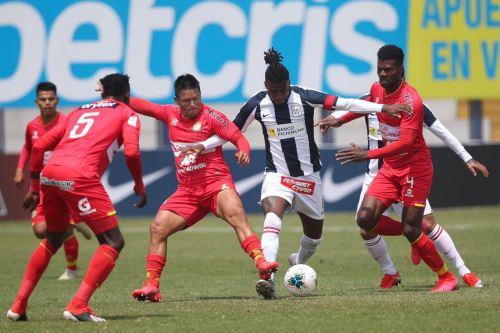 Liga 1: Alianza Lima y Sport Huancayo empataron 1-1 por el Torneo Apertura