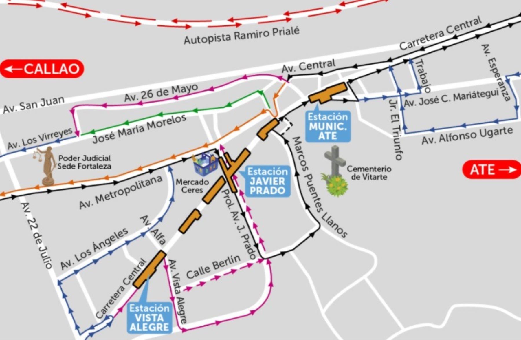 Línea 2 del Metro de Lima y Callao: inician construcción de estación Vista Alegre | Noticias