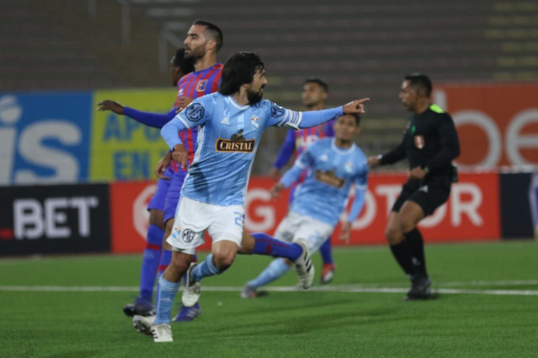 Sporting Cristal y Alianza Universidad de Huánuco se enfrentan en el estadio San Marcos por la fecha 12 del Torneo Apertura de la Liga 1. Foto: ANDINA/Difusión