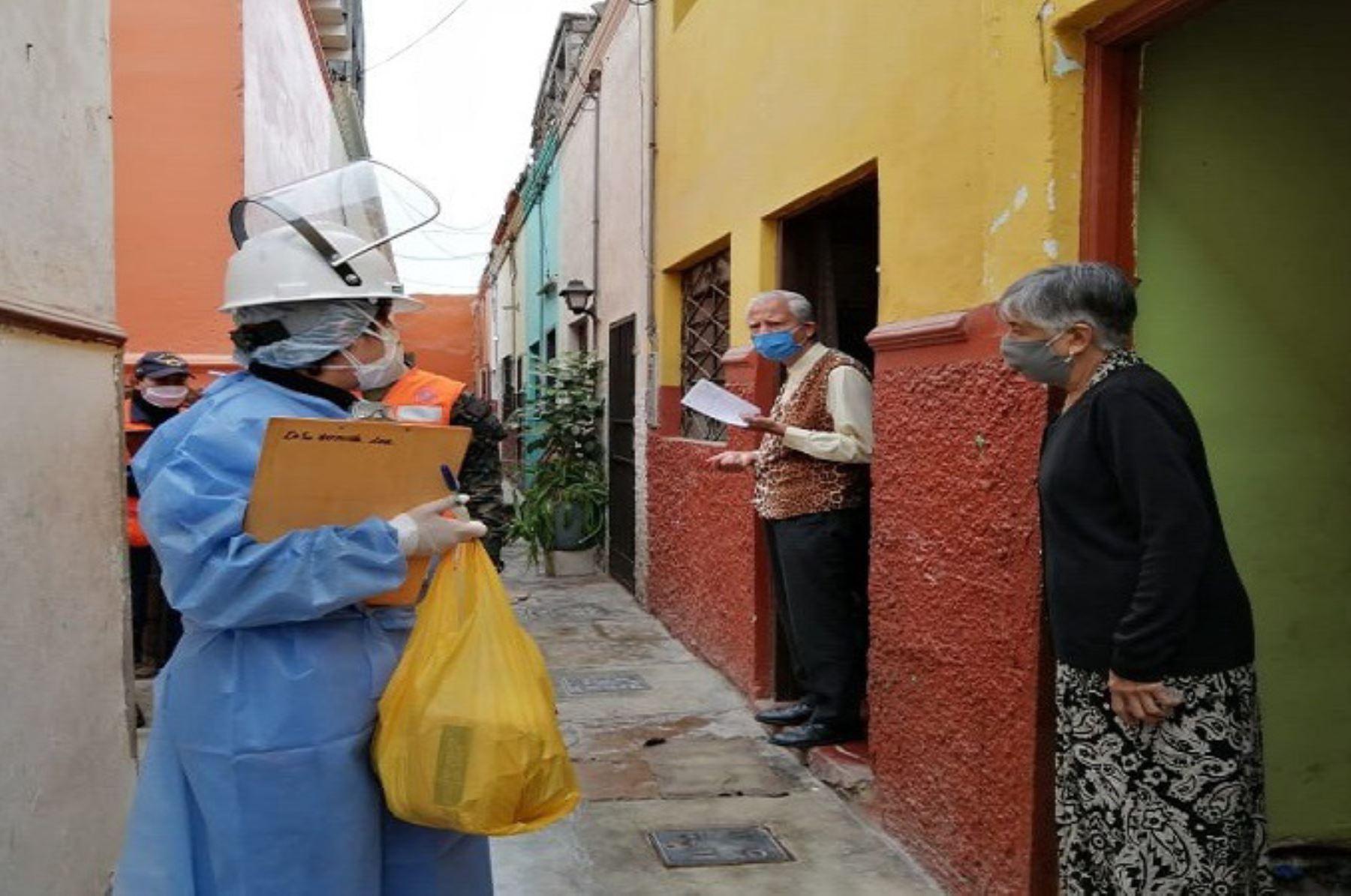 Callao: más de 400 adultos mayores reciben pruebas covid-19 | Noticias