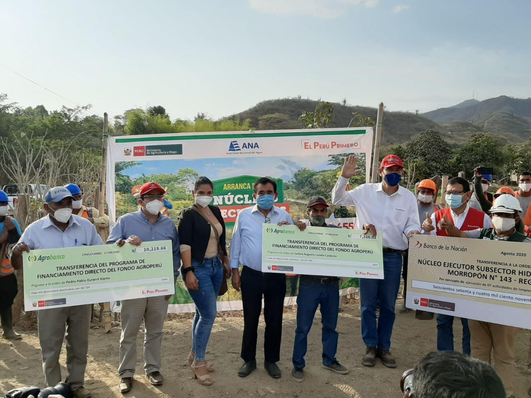 Agrobanco: agricultores de Piura recibieron créditos del Fondo Agroperú   Noticias