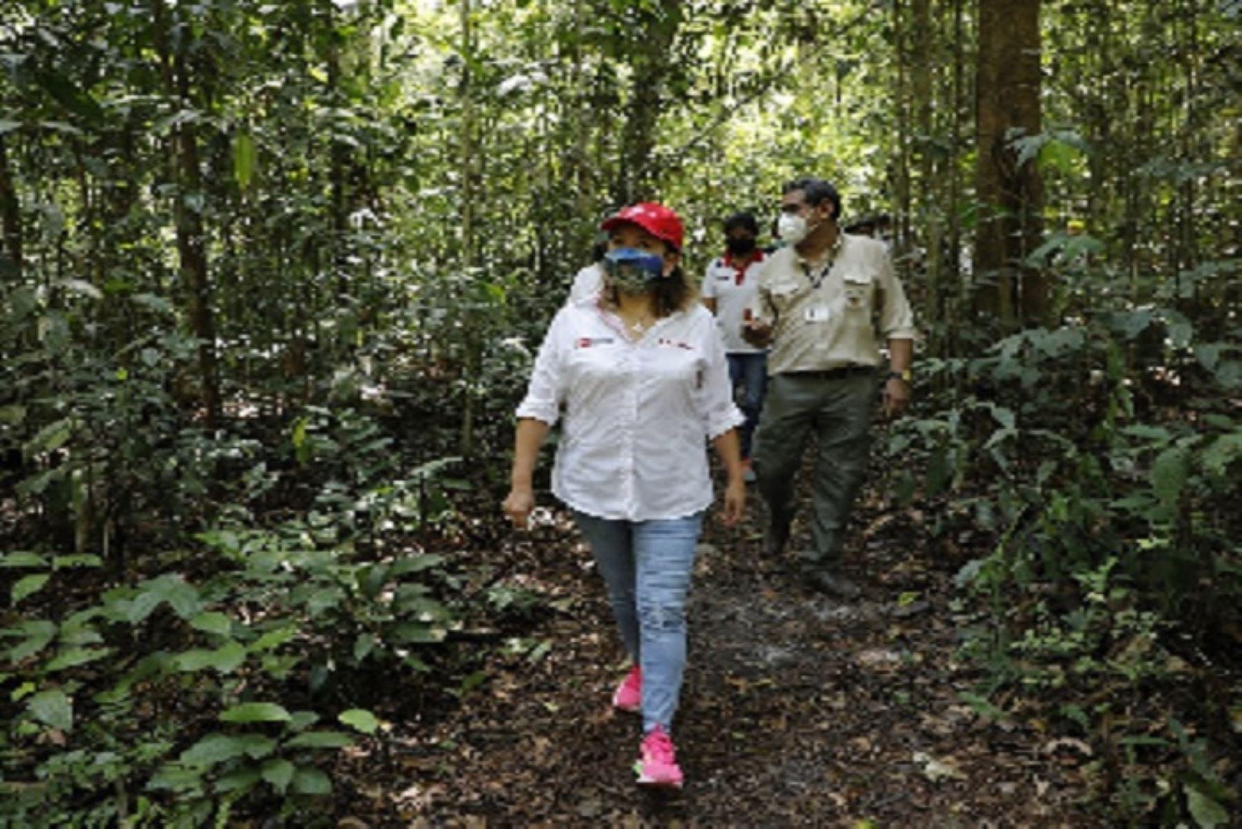 Ministra Rocío Barrios: región Loreto se prepara para reactivar el turismo | Noticias