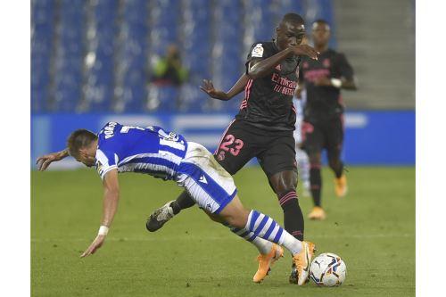 España: Real Madrid se enfrenta al Real Sociedad por la Liga Santander