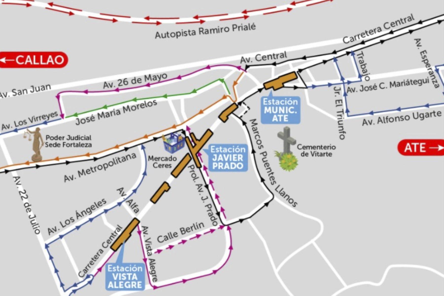 Línea 2 del Metro de Lima y Callao: hoy inicia construcción de estación Vista Alegre | Noticias