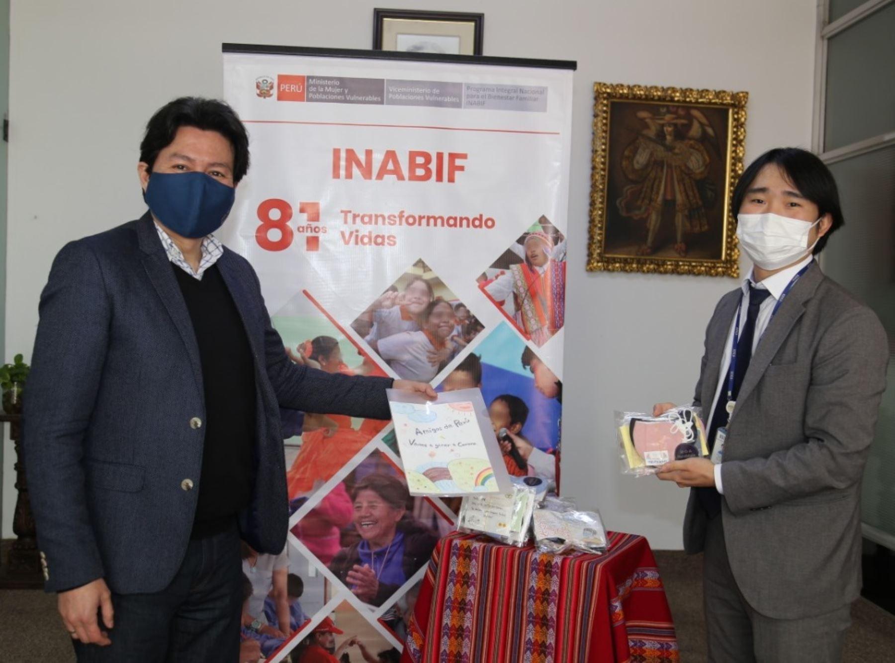 Agencia coreana Koica dona mascarillas a niños y niñas con discapacidad del Inabif | Noticias