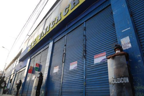 Municipalidad de Lima clausura centro comercial en la Av. Abancay por no cumplir con medidas de seguridad