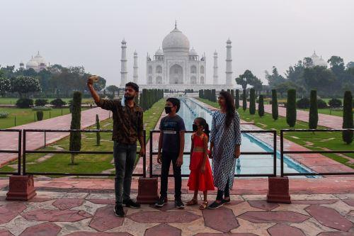 Covid-19: La India reabre el Taj Mahal luego de seis meses