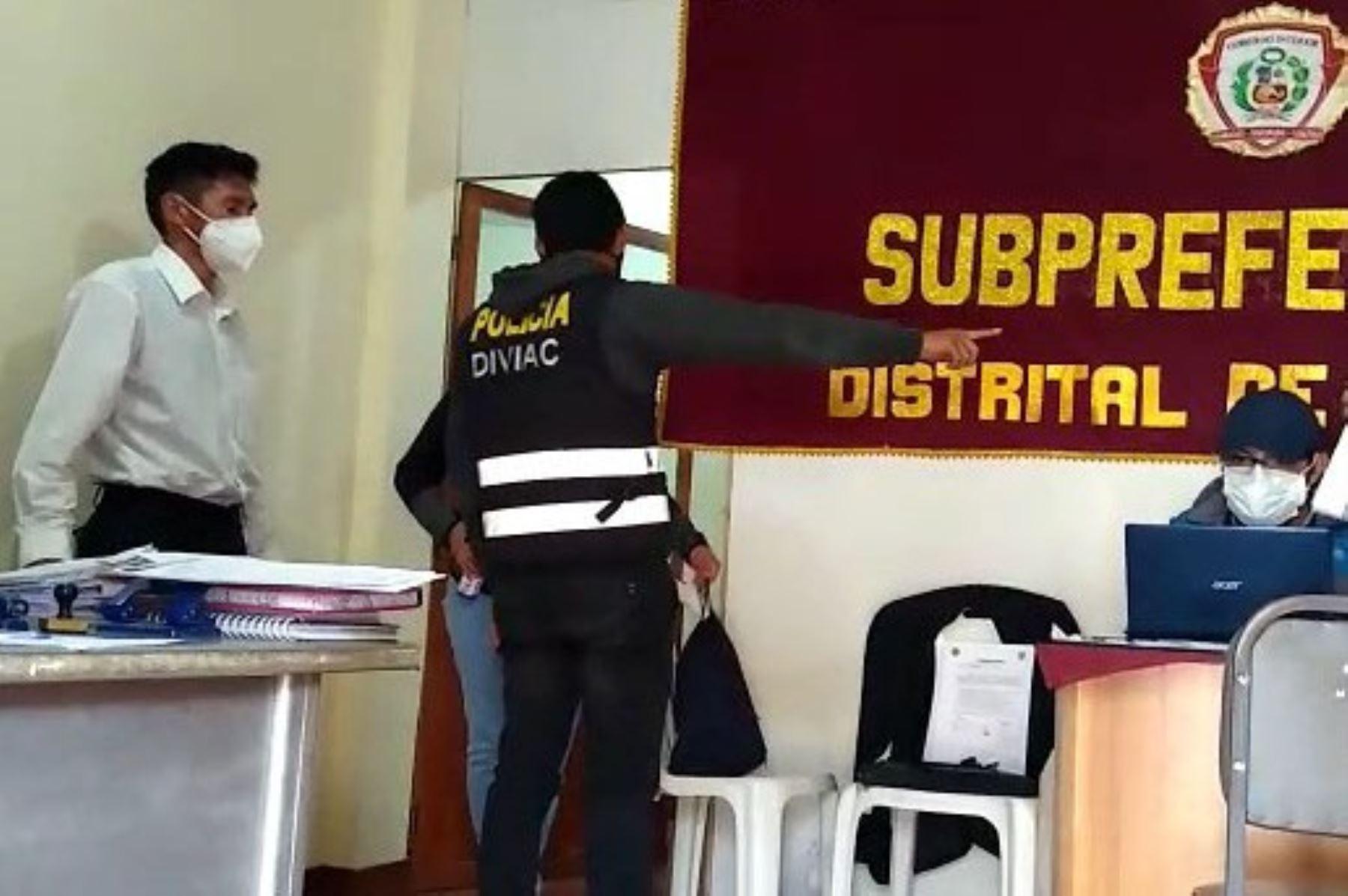 Huancayo: detienen a subprefecto de Chilca por presunto cohecho pasivo | Noticias