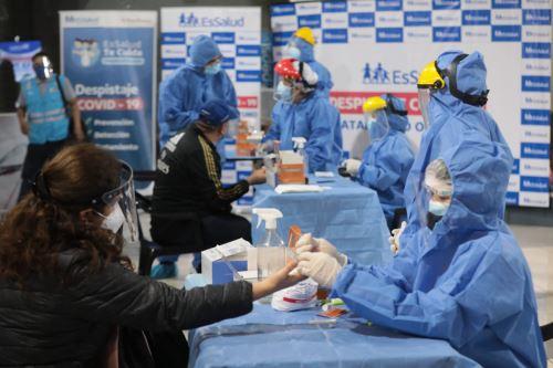 Coronavirus: Operativo de descarte del Covid-19 en la Estación Central del Metropolitano