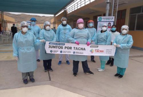 A 14,777 aumentó el número de pacientes dados de alta médica y/o epidemiológica en la región Tacna, de los cuales 78 superaron la enfermedad producida por el covid-19 en las últimas 24 horas, informó la Dirección Regional de Salud (Diresa). ANDINA/Difusión