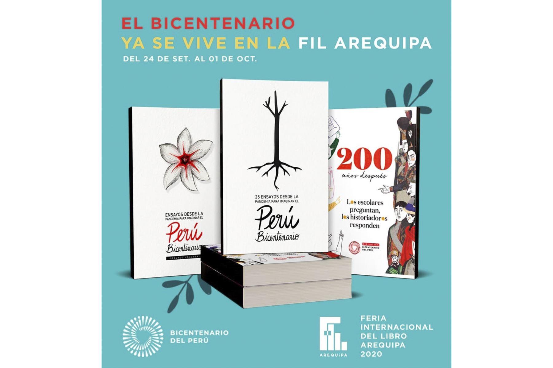 Proyecto Especial Bicentenario estará en la Feria Internacional del Libro Arequipa 2020 | Noticias