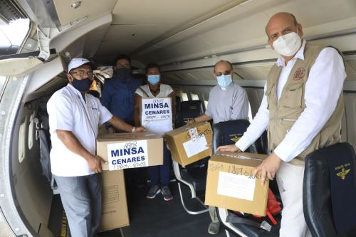 Iquitos: Cancillería entrega a DIRESA equipos de protección personal para la lucha contra la covid-19