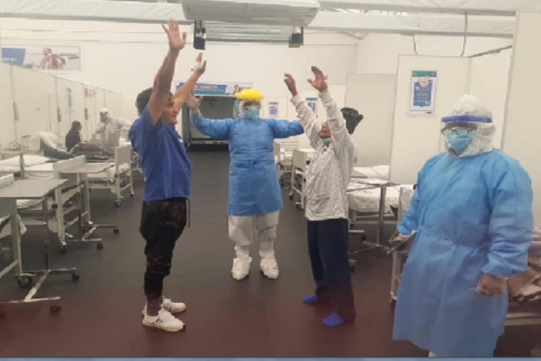 Covid-19: pacientes reciben terapias de rehabilitación en hospital regional de Chimbote | Noticias