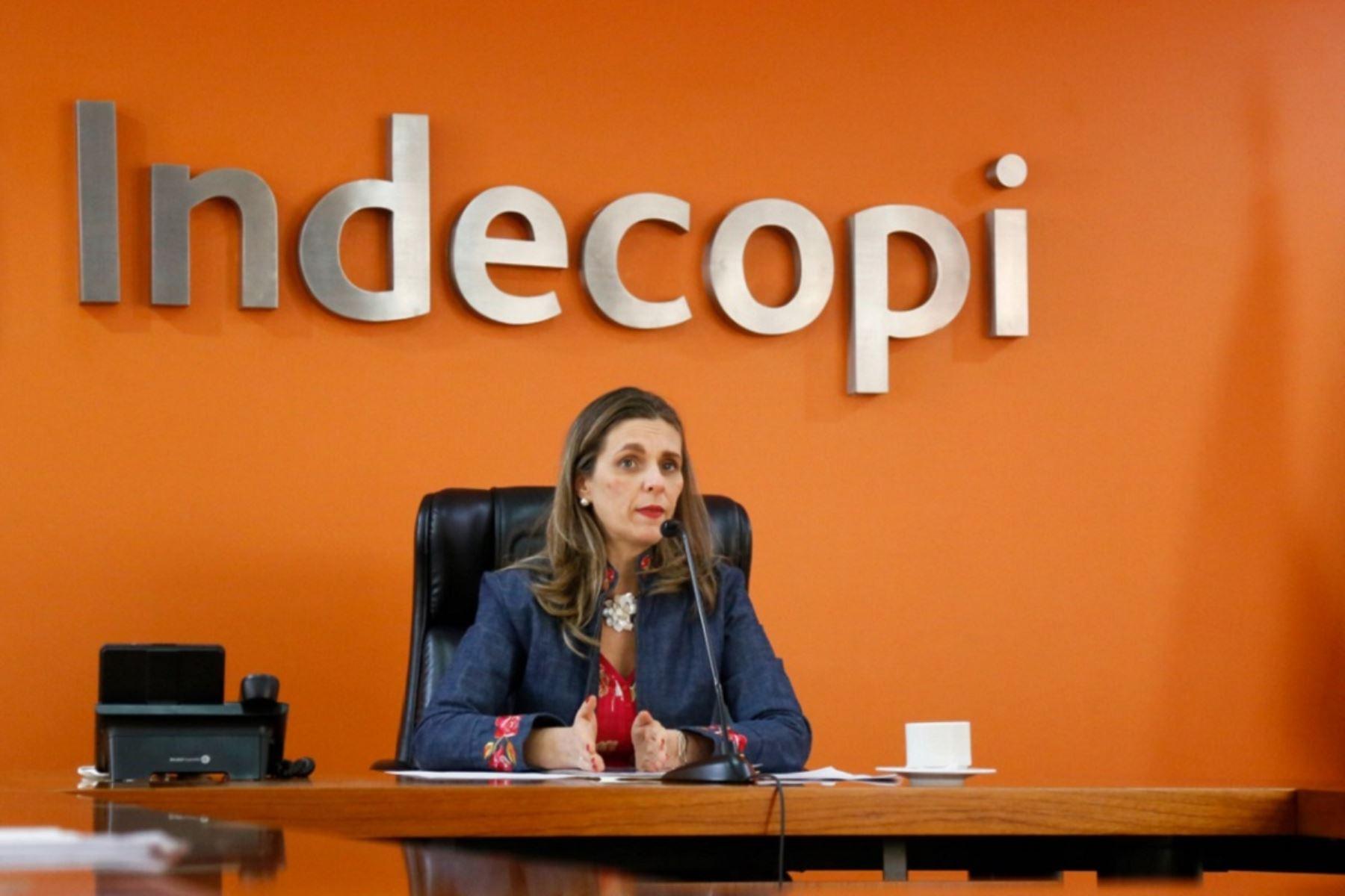 Presidenta del Consejo Directivo del Indecopi, Hania Pérez de Cuéllar. Cortesía.