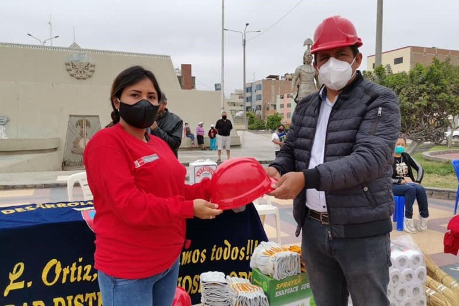 Programa Trabaja Perú crea empleos temporales para los ciudadanos en condición vulnerable en la región Lambayeque.