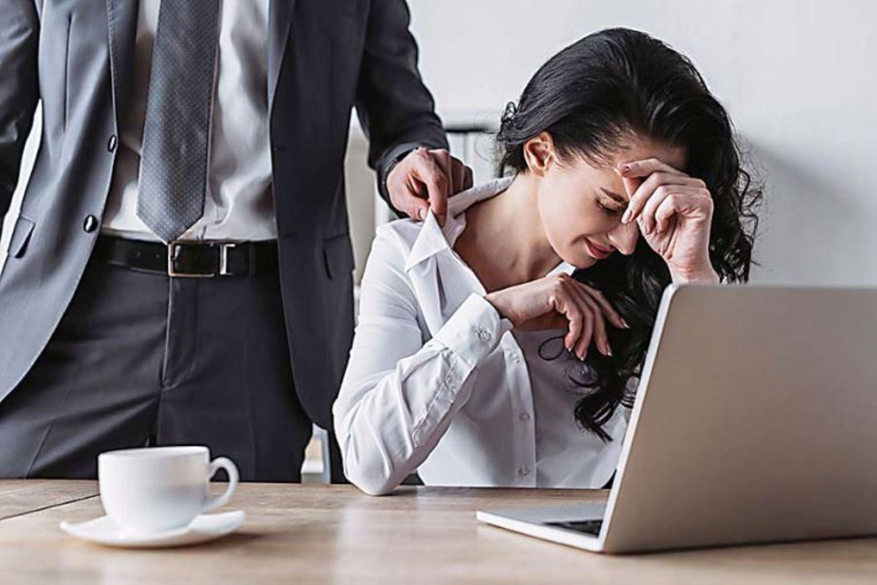 Ley de hostigamiento sexual rige también para el trabajo virtual. Foto: ANDINA/archivo.