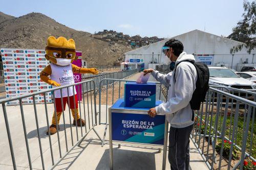 """Coronavirus: Legado instala """"Buzón de la Esperanza"""" para que familiares se comuniquen con pacientes covid-19"""