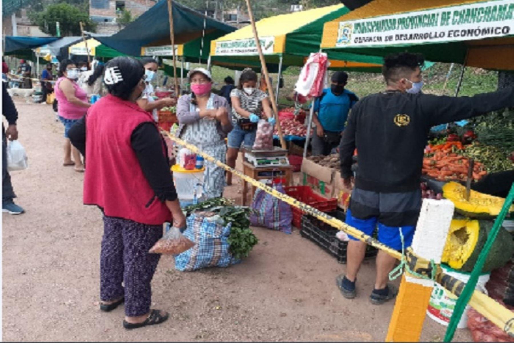 Junín: mercados itinerantes De la Chacra a la Olla vendieron 147.6 t de productos | Noticias