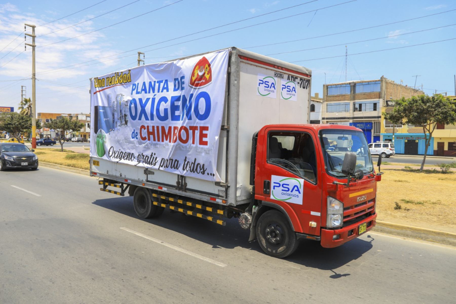 ¡Buena noticia! Chimbote ya cuenta con su propia planta de oxígeno medicinal [video] | Noticias