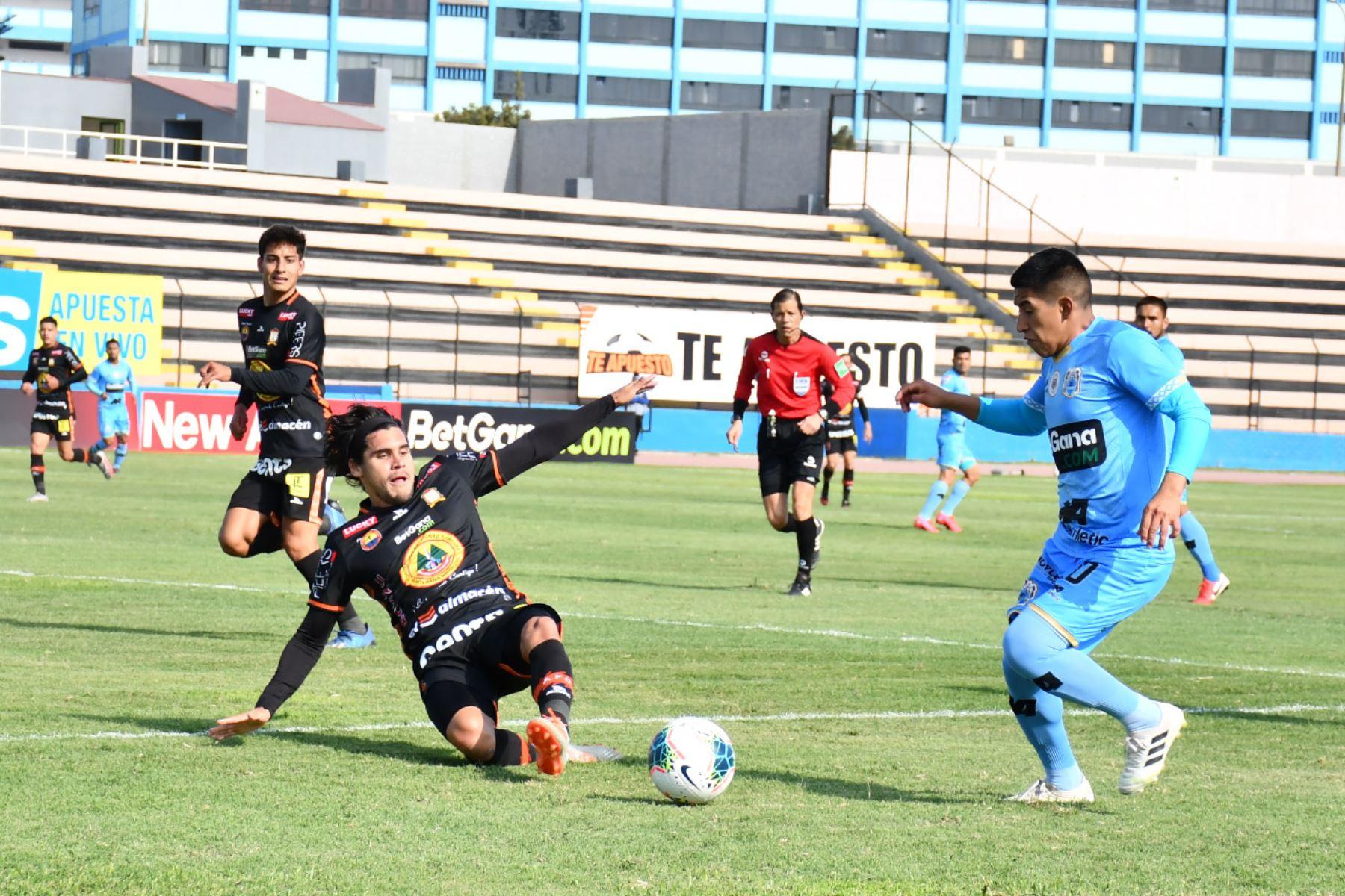 Binacional y Ayacucho F.C. se enfrentan por la fecha 13 del Torneo Apertura. Foto: Liga 1