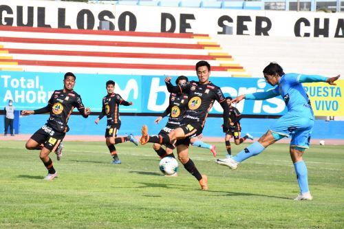 Liga 1: Ayacucho F.C. venció 1-0 a Binacional por el Torneo Apertura