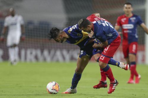 Copa Libertadores: Boca Juniors con Carlos Zambrano venció 1-0 a Independiente de Medellín en Colombia