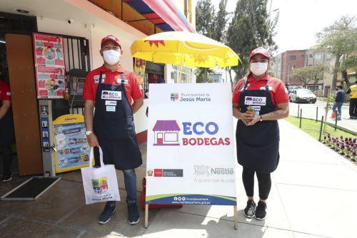 Bodegas del distrito de Jesús María también serán estaciones de reciclaje