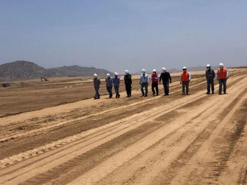 Avanza construcción de planta para tratamiento de residuos sólidos en la provincia de Chiclayo, en Lambayeque. ANDINA/Difusión